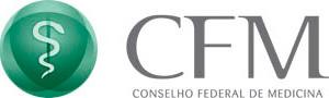 Logomarca Conselho Federal de Medicina.