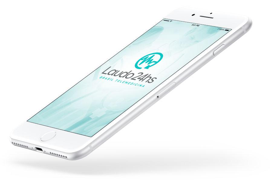 Conheça o App do Laudo24hs, uma solução exclusiva no mercado.